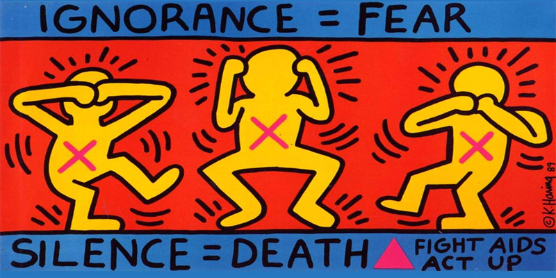 Keith Haring in mostra a Milano